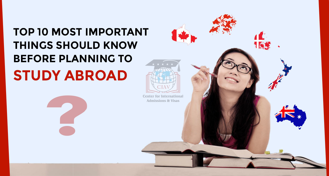 Top 10 most important things to study in abroad